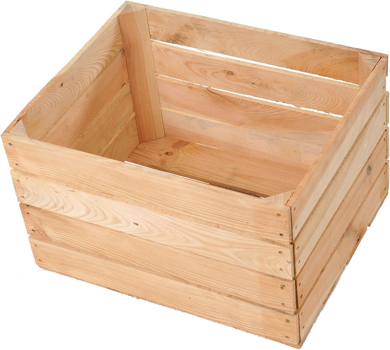 Nueva Claro manzana caja 50 x 40 x 30 cm: Amazon.es: Hogar