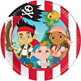 Toll 20 Cm Disney Jake Und Die Nimmerland Piraten Party Teller, ...