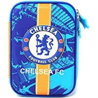 Mist Premium Pencil Boxes for Boys FCB Manchester Chelsea Football Club 3D EVA Hardtop Pencil Pouches for Girls and Boys (Chelsea)