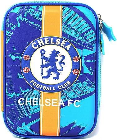 Mist Premium Pencil Boxes for Boys FCB Manchester Chelsea Football Club 3D EVA…