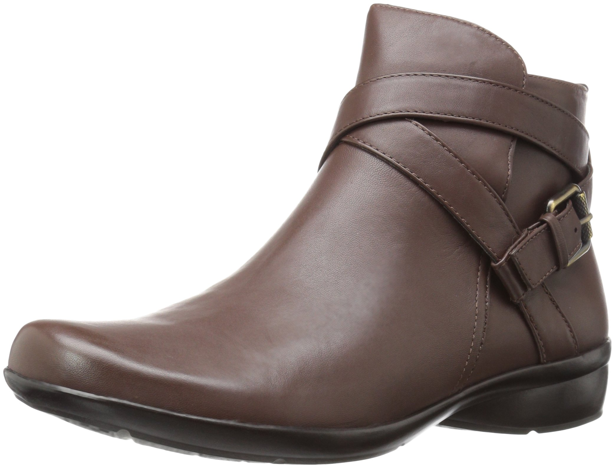 Naturalizer Women's Cassandra Ankle Bootie, Brown, 9.5 2W US by Naturalizer (Image #1)