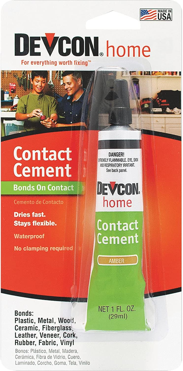 Itw Global Brands 18045 Waterproof Adhesive Contact Cement, Amber
