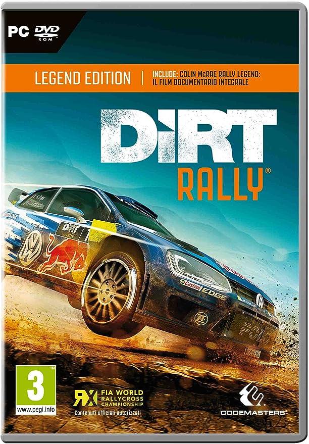 Dirt Rally: Legend Edition - Day-One Limited [Importación Italiana]: Amazon.es: Videojuegos