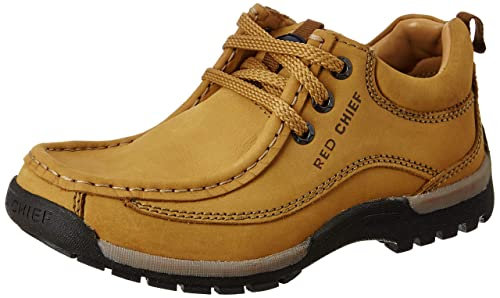Red Chief Leather Boots Shoes for Men
