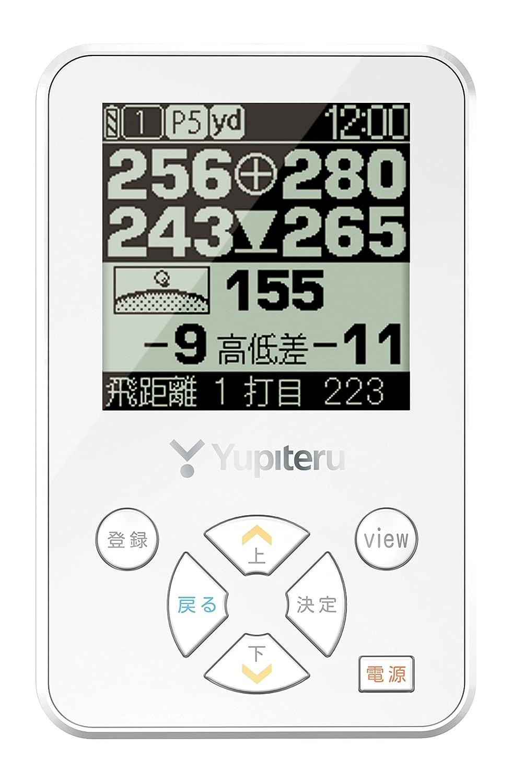 ユピテル(YUPITERU) ゴルフナビ ゴルフGPS YGN3000 高低差表示機能 ディスプレイ:2.2モノクロ液晶  ホワイト B015IWPW0M