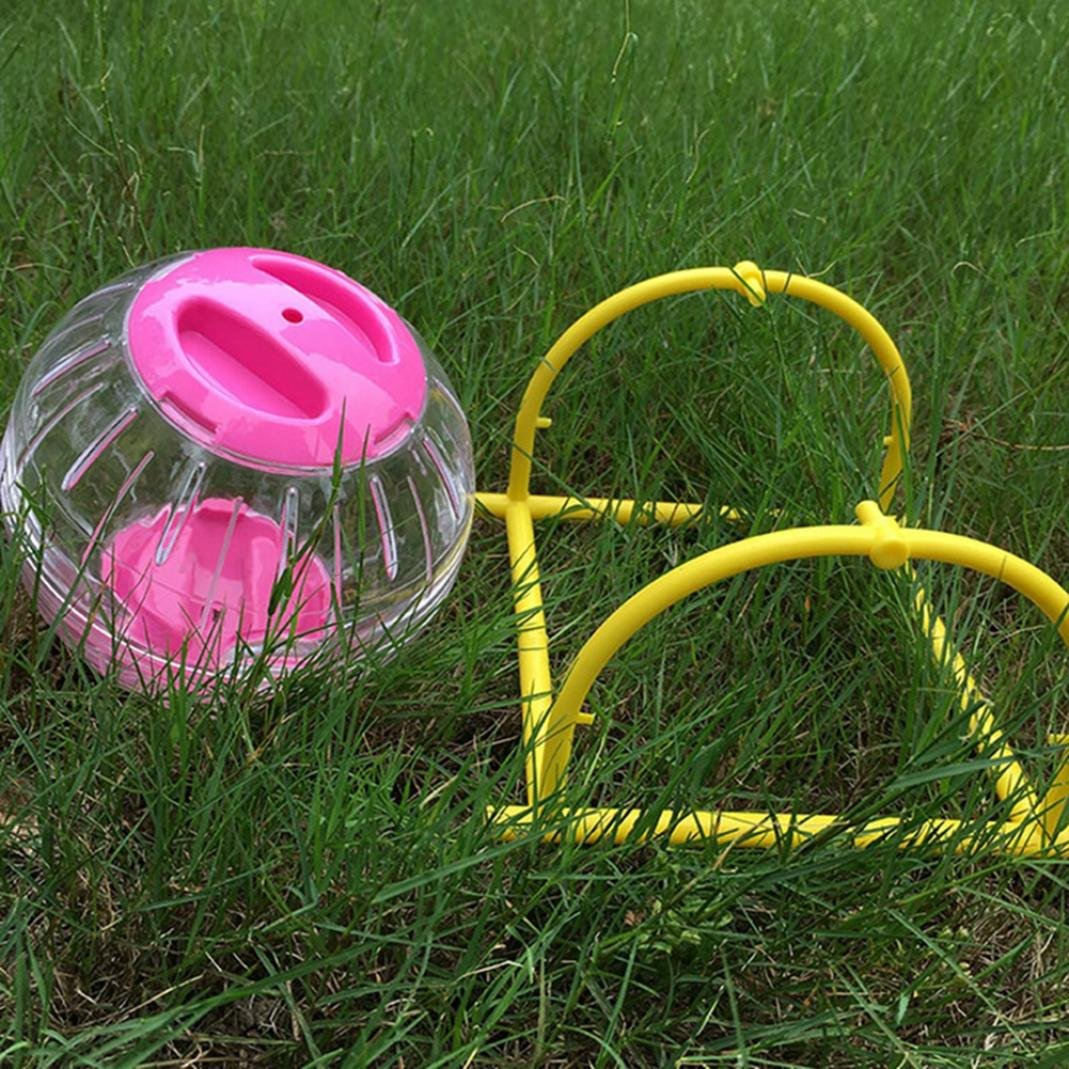 Hamster Funny Running Ball Plastic Grounder Jogging Small Pet Exercise Toy