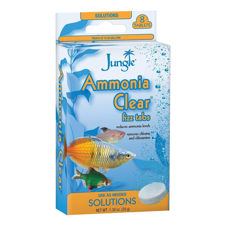 Amazon Jungle TB605W Tank Bud s Ammonia Clear Tablets 8