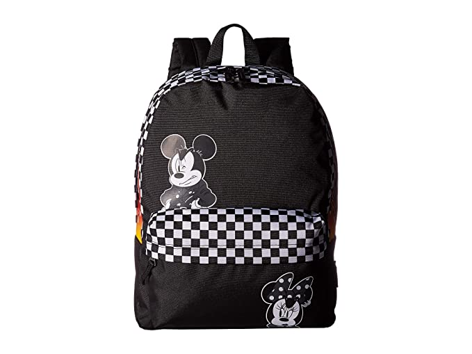 Vans x Disney Mickey Mouse 90th Anniversary Realm Backpack (Black)