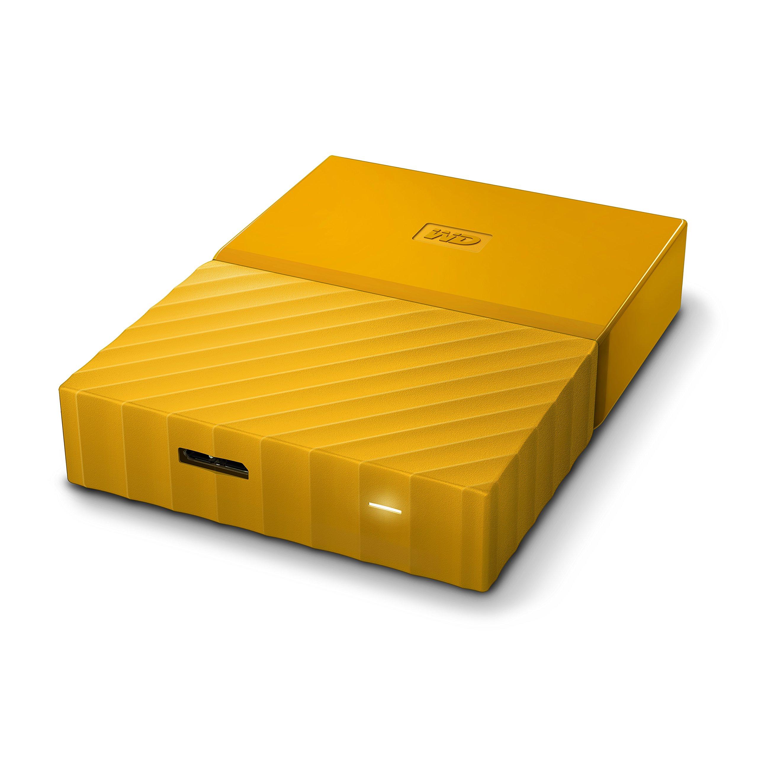 WD 2TB Yellow My Passport Portable External Hard Drive - USB 3.0 - WDBYFT0020BYL-WESN by Western Digital (Image #6)