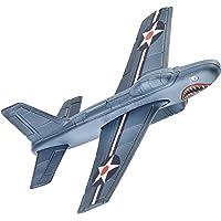 Aeromax Aerobatic Foam Flyer Shark Bite Edition Airplane, Grey/Silver