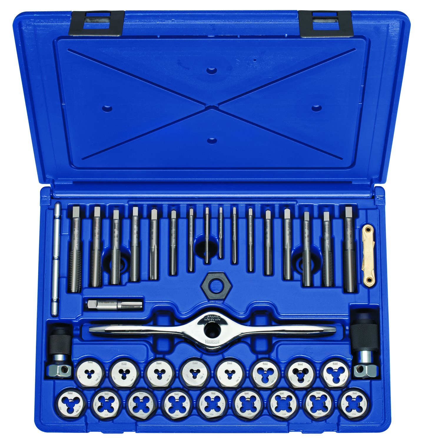 Irwin Tools 1835092 Performance Threading System Plug Tap and Die Set -Metric, 40-Piece by Irwin Tools