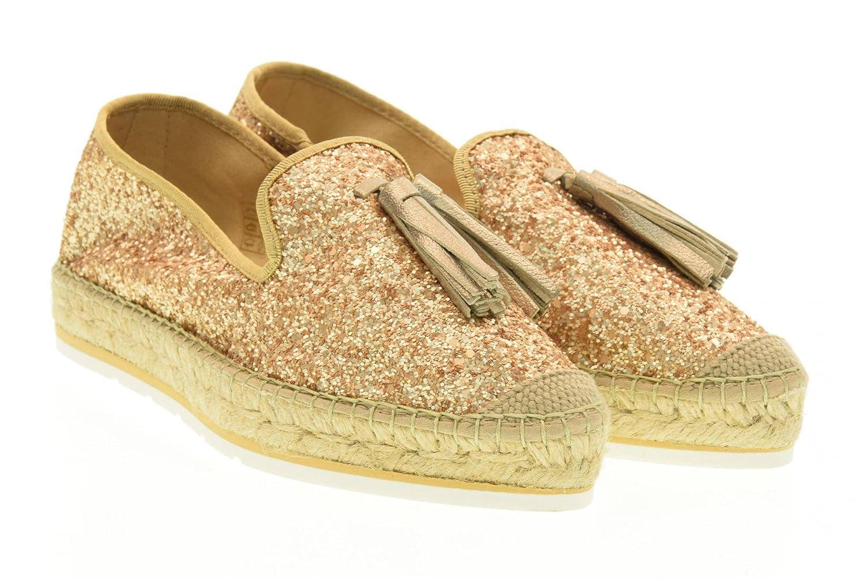 VIDORRETA Alpargatas Zapatos 16304 Oro Talla 38 Oro: Amazon.es: Zapatos y complementos