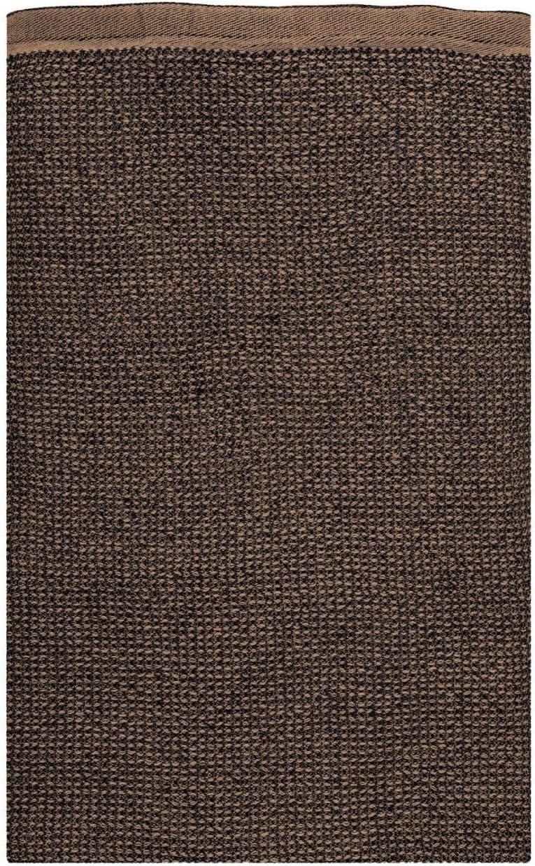 Lapuan Kankurit Terva Uni Duschtuch//Saunatuch//Strandtuch 85x180 cm schwarz Zimt