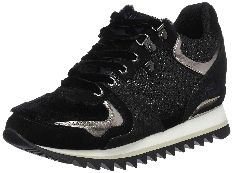 Gioseppo 41142, Zapatillas para Mujer 38 EU|Negro (Negro 41142-p)