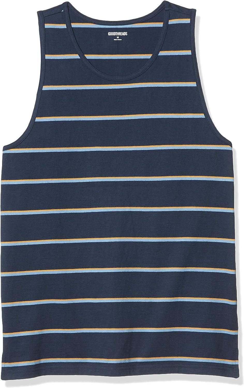 Amazon Brand - Goodthreads Men's Soft Cotton Tank Top