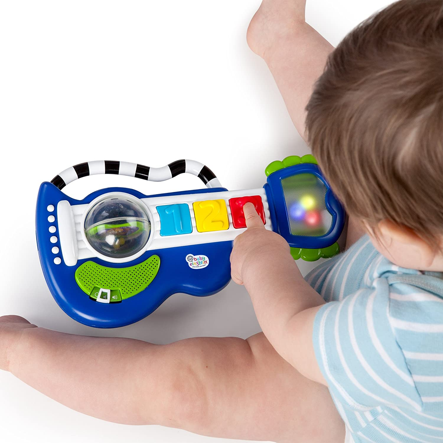 Amazon Baby Einstein Rock Jouet Guitare Rock Léger et Rouler