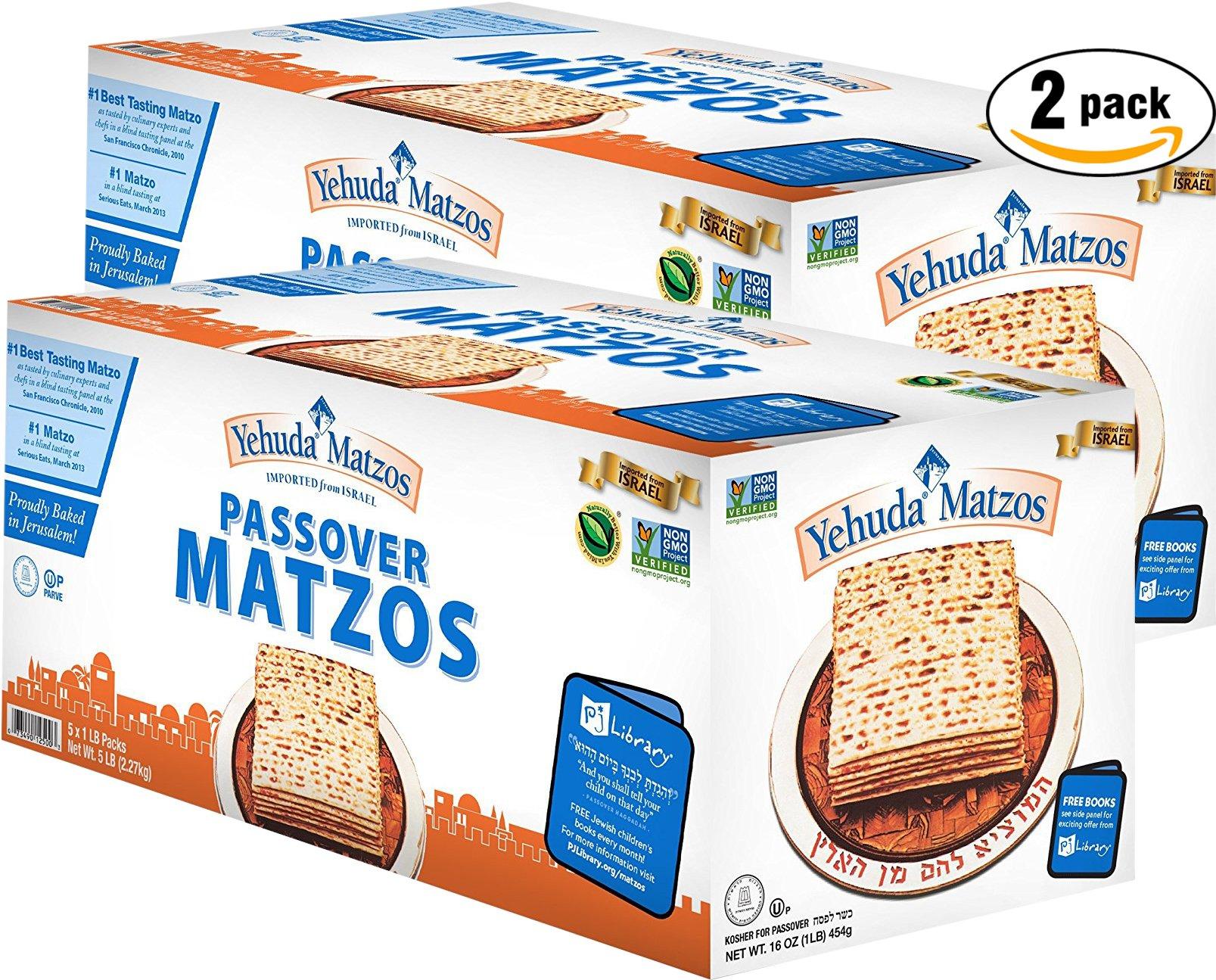 Yehuda Matzo (Kosher for Passover) (10 Pound)