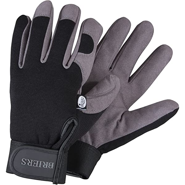 Briers Advanced Cut-Resistant Gloves Yellow//Black Large