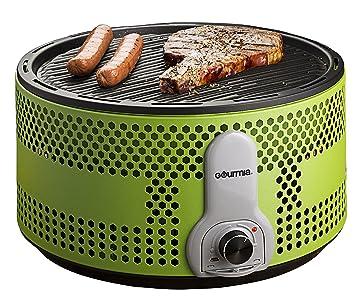 Gourmia GBQ330EU Parrilla de barbacoa portátil de carbón vegetal - 90% barbacoa de reducción de