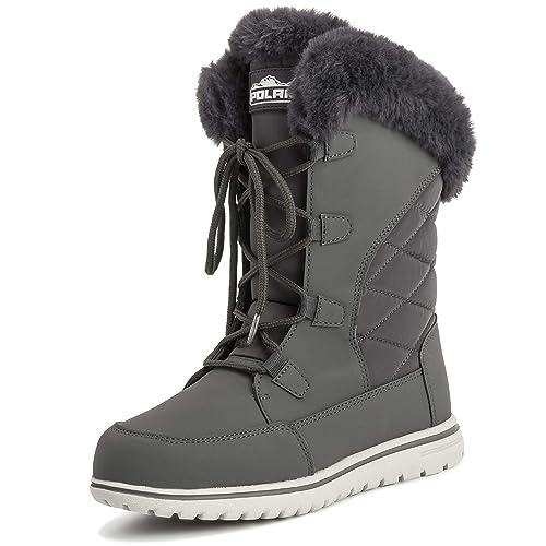 diversificado en envases en pies imágenes de verse bien zapatos venta Mujer Pato Impermeable Lluvia Nieve Invierno Forro Polar ...