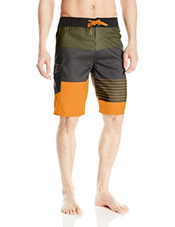 0f17cc93d4 O'Neill Men's 21 Inch Outseam Ultrasuede Swim Boardshort, Dark Army/Lennox,