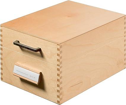 HAN 506 - Caja para tarjetas de índice (capacidad para 900 ...