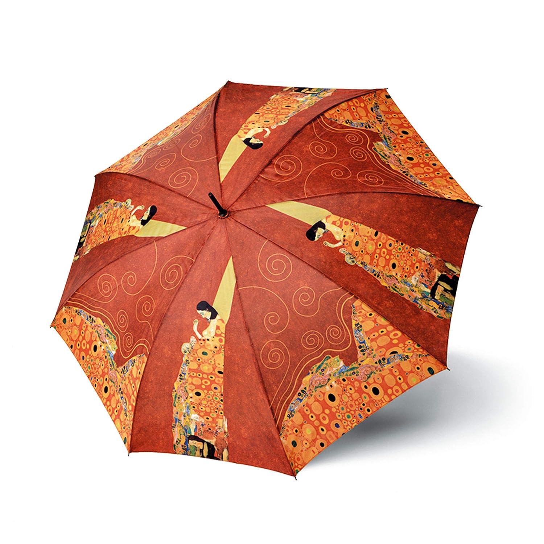 Umbrellaworld Colección de Arte Klimt Esperanza Auto Paraguas de Senderismo: Amazon.es: Ropa y accesorios