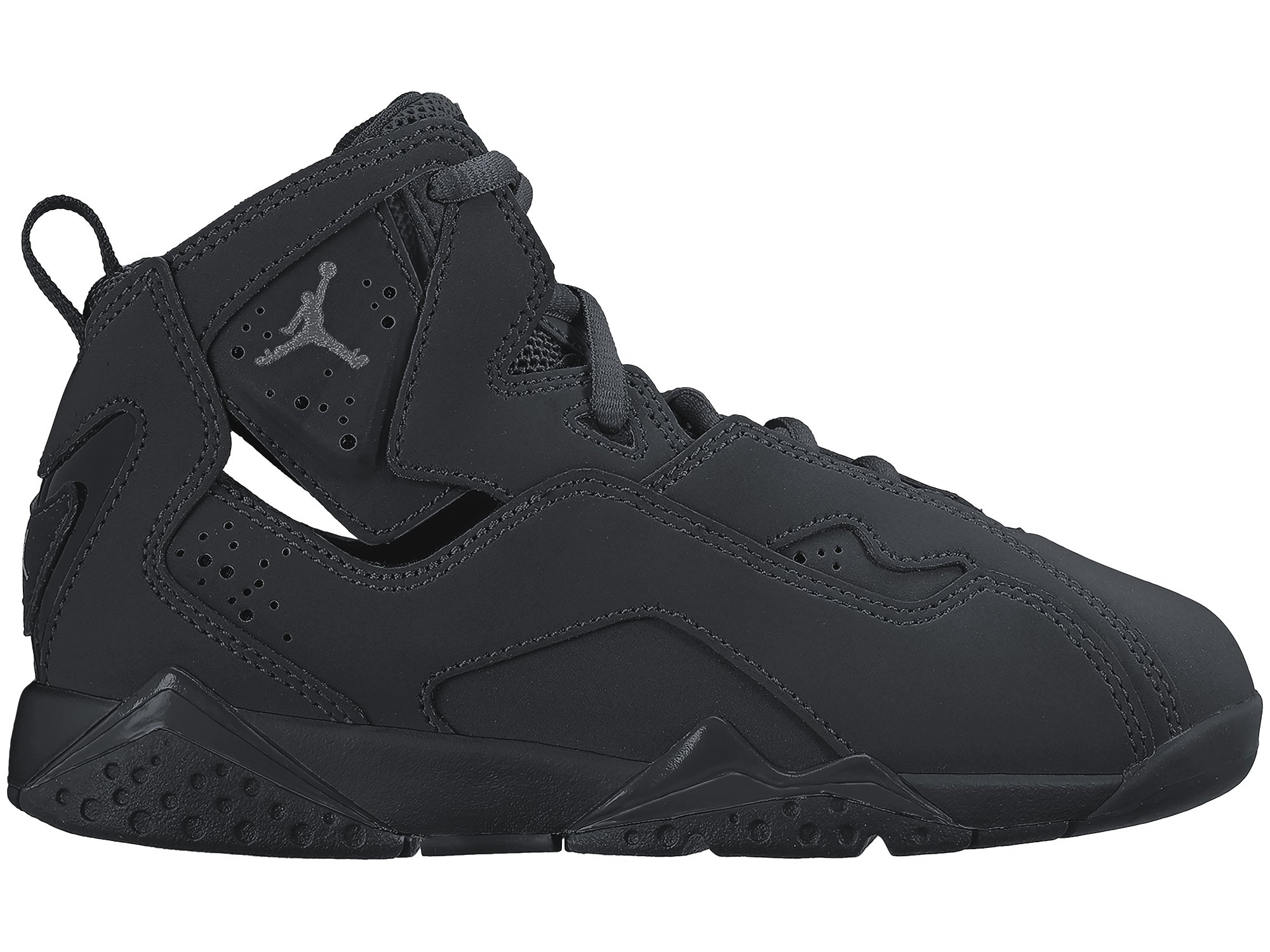 Nike Air Jordan True Flight BG 343796-013 Black/Dark Grey Kids Basketball Shoes (size 12C)