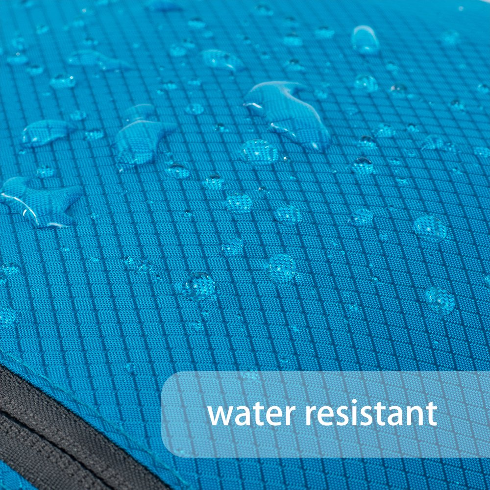 Resistente al Agua,para Viajes Mochila de Senderismo Grande ZOMAKE 40L Mochila Plegable Ligera