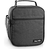 Hap Tim Insulated Lunch Bag For Men Women Reusable Lunch Box For Boys Spacious Lunchbox Adult (SG-18645-DG)