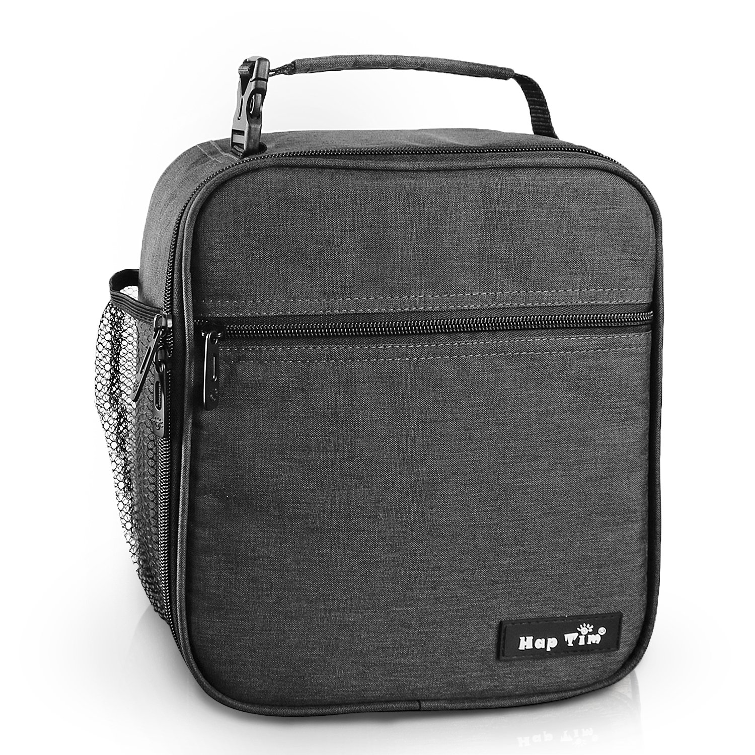 Hap Tim Insulated Lunch Bag for Men Women,Reusable Lunch Box for Kids Boys,Spacious Lunchbox Adult (18654-DG)
