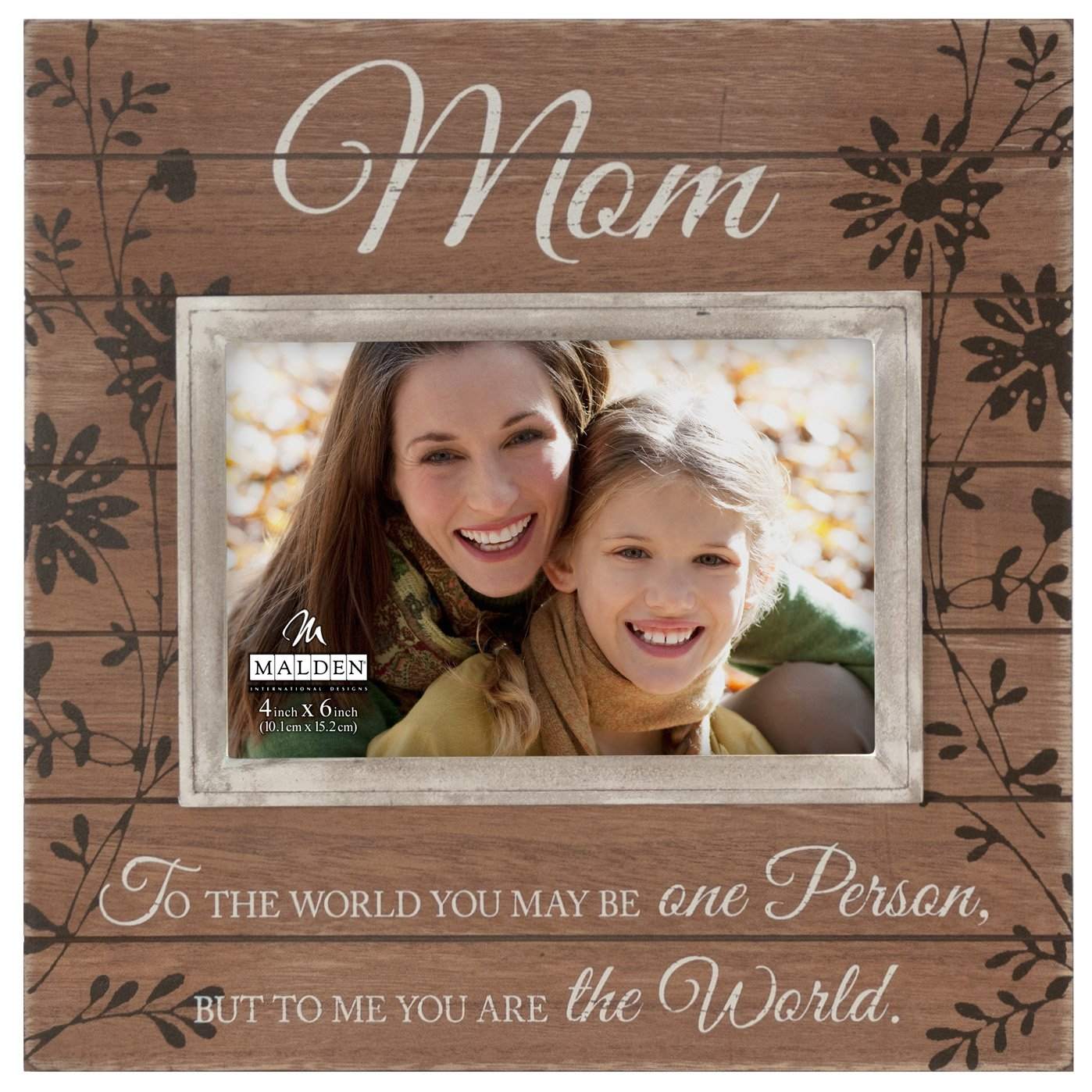 Amazon.com: The Love Between A Mother And Son Lasts Forever 4x6 Inch ...