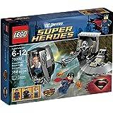 LEGO Superheroes Superman Black Zero Escape 76009 Interlocking Set