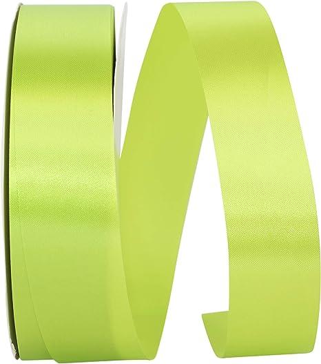 French Blue 1-1//2 Inch X 50 Yards Reliant Ribbon Single Face Sfs Satin Ribbon