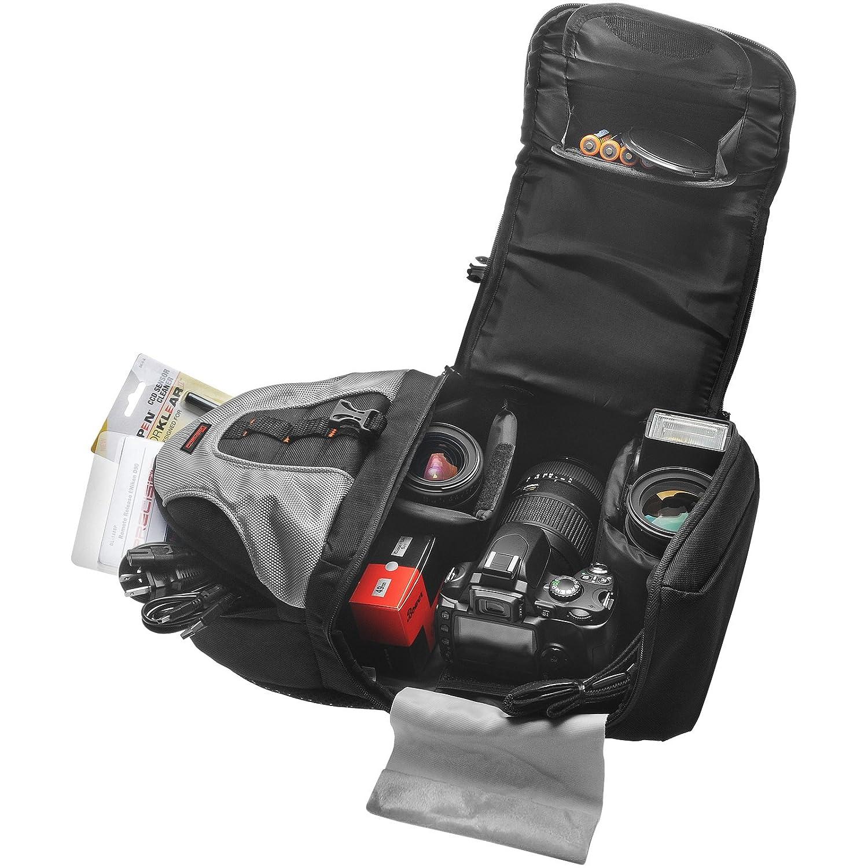 Precision Design PD-BP2 Sling Digital SLR Camera Backpack Case for Nikon  D3100, D3200, D5100, D5200, D7000, D7100, D600, D800, D4