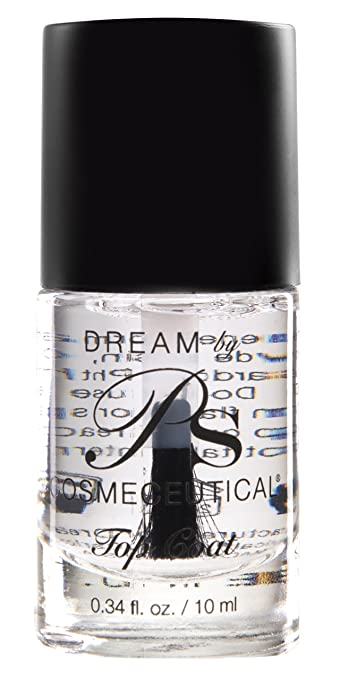 Amazon.com: PS Polish Clear Dry Fast Top Coat Nail Polish Shine and ...
