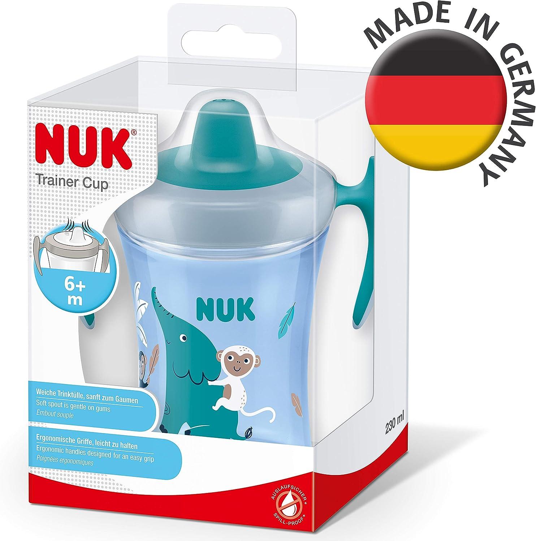 Neutro MAM Vaso Fun to Drink D122 Vaso de Aprendizaje con Boquilla y Tapa para Beb/és a partir de 8 meses 270ml