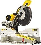 DeWalt Paneelsäge 1675W DWS780 inkl. Zubehör – Mit 305x30 mm HM-Sägeblatt ideal für den Innenausbau – Hohe Schnittkapazität & LED Schnittlinien Anzeige