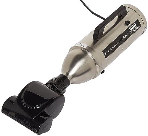 Metropolitan Professional 500 Watt Stainless Steel Hand Vac