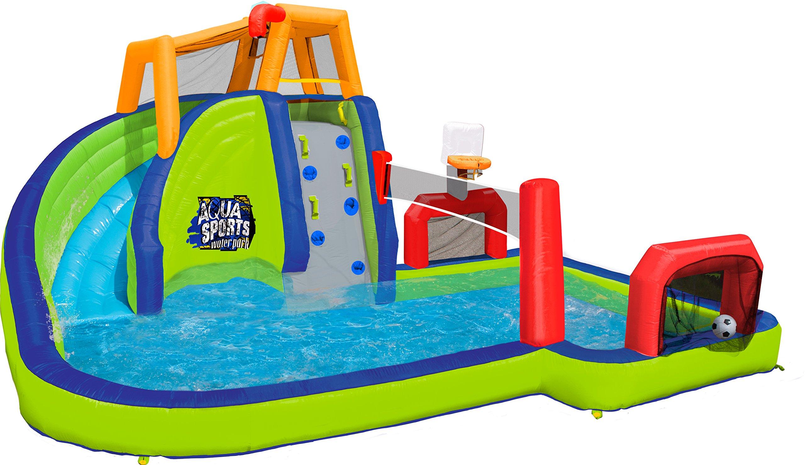 Banzai Aqua Sports Inflatable Water Park