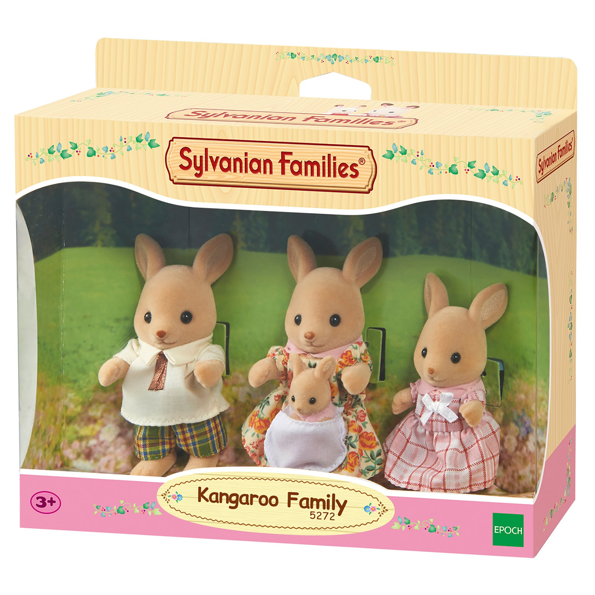 SYLVANIAN FAMILIES Sylvanian Families-5272 Familia canguros Color Assorted Colours Epoch para Imaginar 3148 product