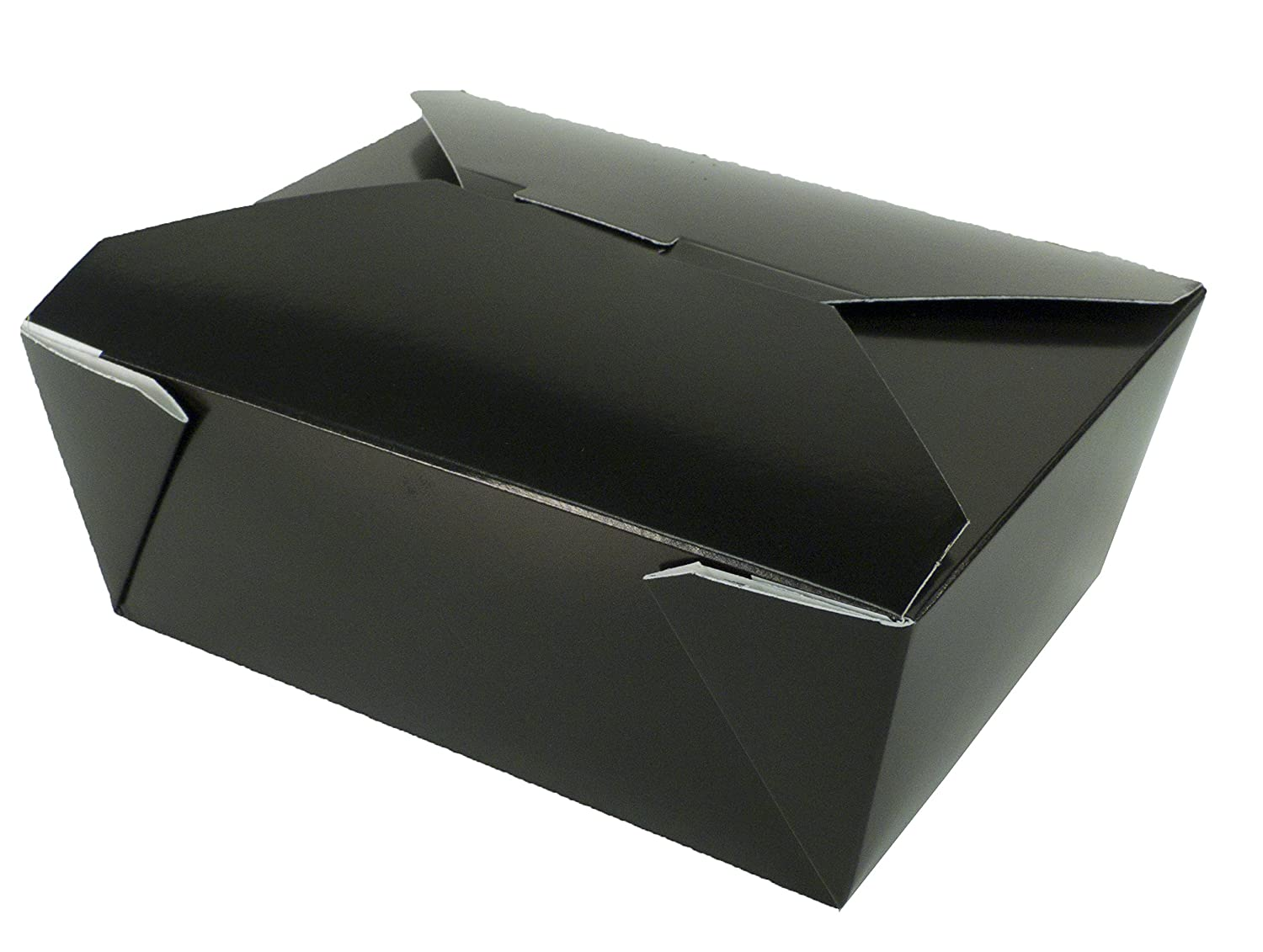 Fold-Pak Bio-Pak 08BPBLACKM Paper Carry-Out/to-Go Container, 6