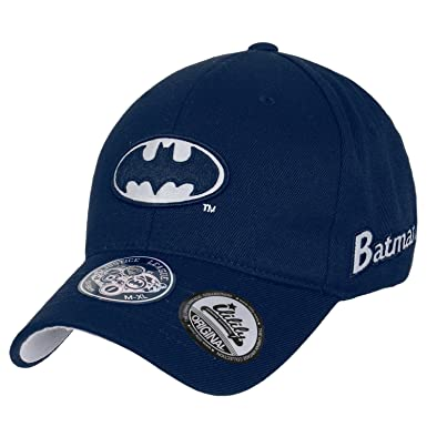 DC Comics - Gorra de béisbol - para mujer Azul azul marino Small ...