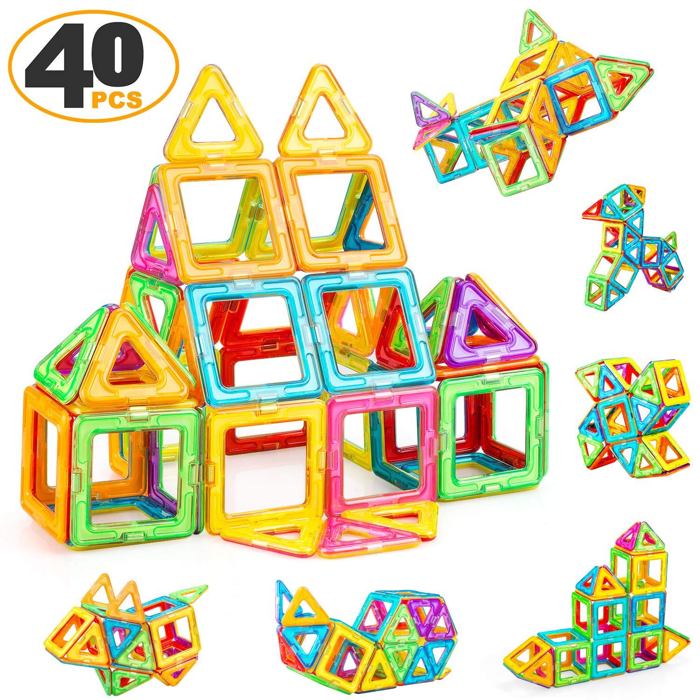 ZENFOLT Magnetic Blocks - 40 Pieces