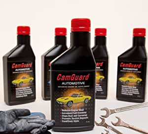 Camguard 100% Oil Additive Concentrate - Reduce Wear, Corrosion, Dry Hard Seals and Eliminate Engine Deposits Engine Oil Additive. The Ultimate Oil Treatment on The Market.