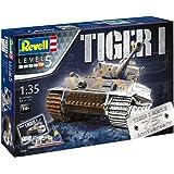 Revell 05790 Maquette Coffret Cadeau du Tiger I - 75 ans