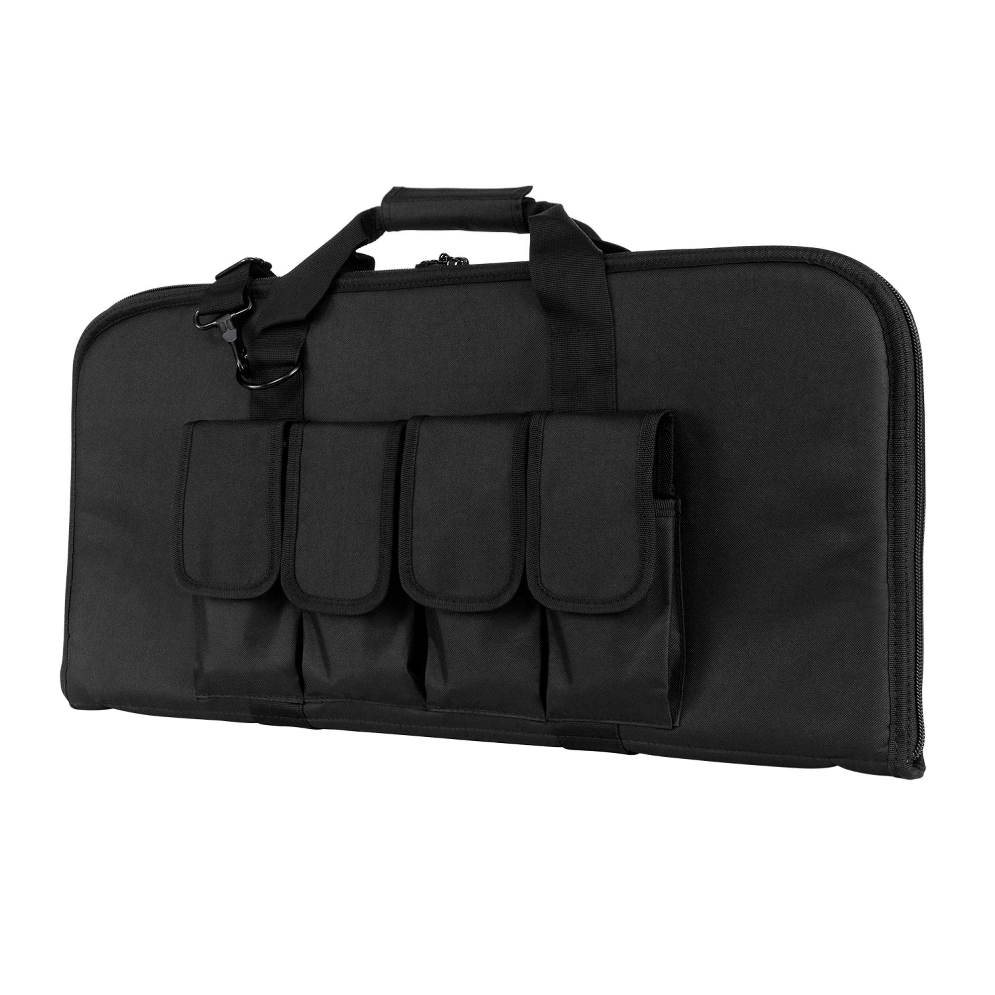 VISM by NcStar 2910 Pistol Subgun Gun Case, Black, 28'' x 13''