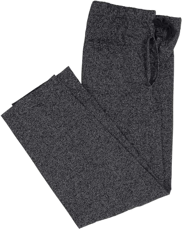 Adamo Leon Series Mens Jogging Bottoms Black Mottled Large Sizes 2XL 12XL