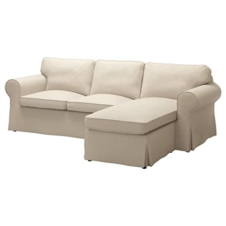 Amazon.com: IKEA Ektorp Cover for Sofa with Chaise ...
