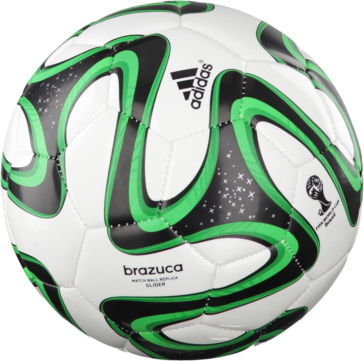 adidas Brazuca Glider - Balón de fútbol para Hombre, Color Blanco ...